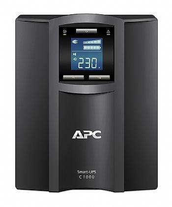 NOBREAK APC SMC1000I SMART-UPS C 1,0 KVA LCD (1500VA) 230V TORRE NBR itemprop=
