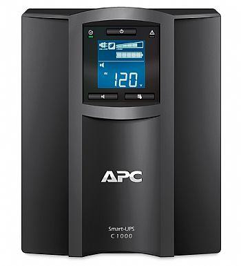 NOBREAK APC SMC1000-BR SMART-UPS C 1,0 KVA LCD (1500VA) 120V TORRE NBR itemprop=