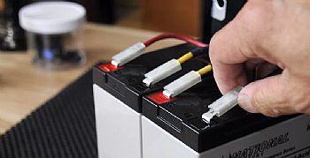 Trocar bateria do nobreak APC 5KVA SRT5KXLI