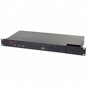 KVM APC 2G KVM1116R, Digital/IP, 1 utilizador remoto/1 local, 16 portas com Virtual Media - FIPS 140-2 itemprop=