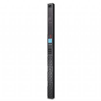 RACK PDU APC 2G AP8858  METERED, ZEROU, 20A/208V, 16A/230V, (18) C13 & (2) C19 itemprop=