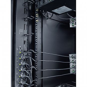 ORGANIZADOR VERTICAL DE CABOS APC AR8442 8 CABLE RINGS , ZERO U itemprop=